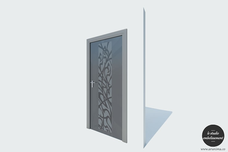 Door Design:   by La Studio Embellissement