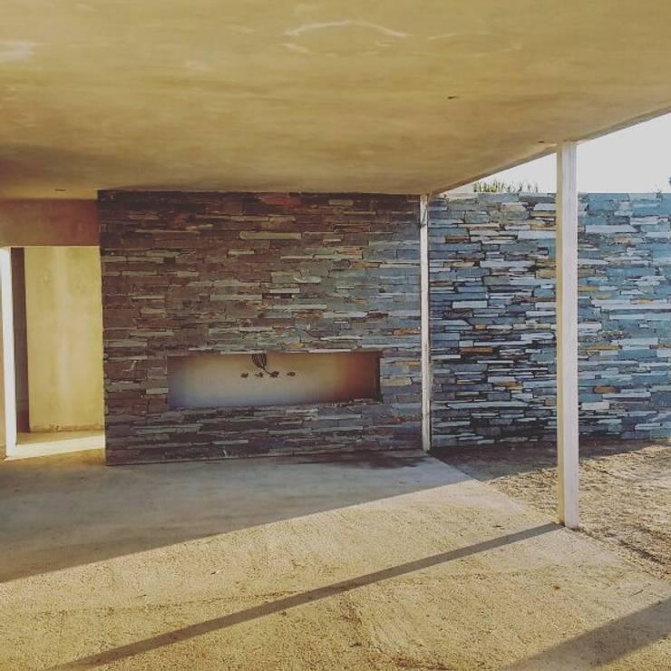 Vivienda GS   hogar: Casas de estilo  por Arquitecto Nicolás Mora,