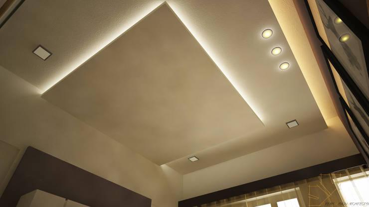 residence interior design:  Bedroom by Artist Inside,Modern Wood-Plastic Composite