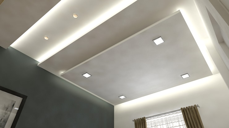 residence interior design:  Bedroom by Artist Inside,Modern Plywood