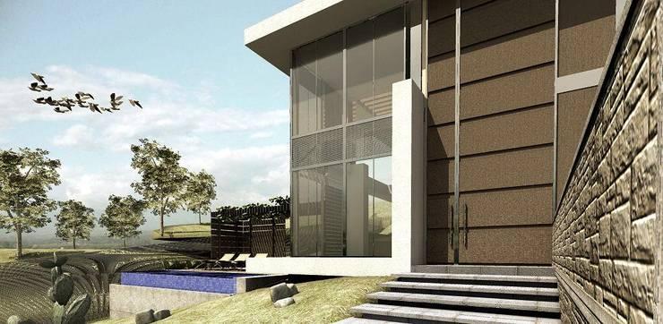 Modern home by Elite Arquitectura y Asoc. SAS. Modern Iron/Steel