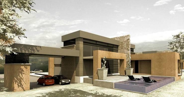CASAS CASTRO PERAFAN: Casas de estilo  por Elite Arquitectura y Asoc. SAS.