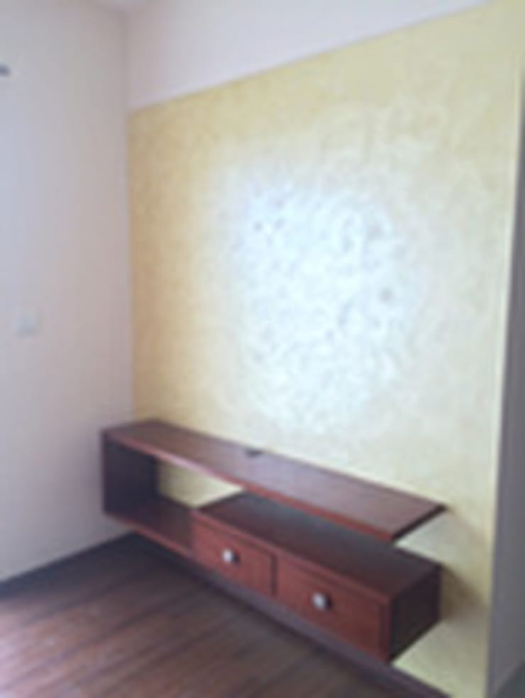 TV Unit: modern Bedroom by Vedasri Siddamsetty