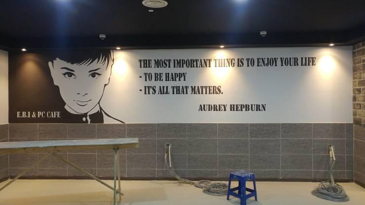 벽화 프로젝트 : T.S.F ART의  상업 공간,