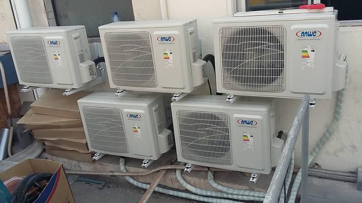 Inspección técnica instalación equipos climatización proyecto Banco de Chile, Iquique.:  de estilo  por Gerardo Cervellino EIRL