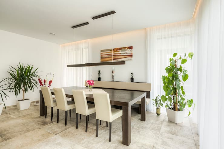 modern Dining room by Horst Steiner Innenarchitektur