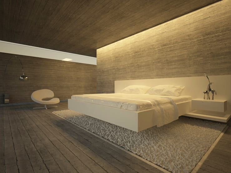 Bedroom by Pedro Palma Arquiteto,