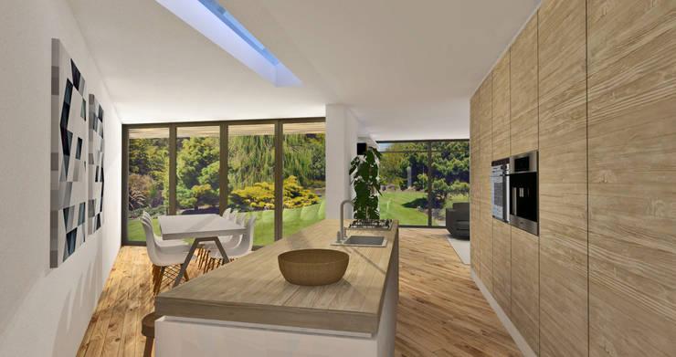 Villa Rijsbergen:  Keuken door Schneijderberg Architectuur & Design