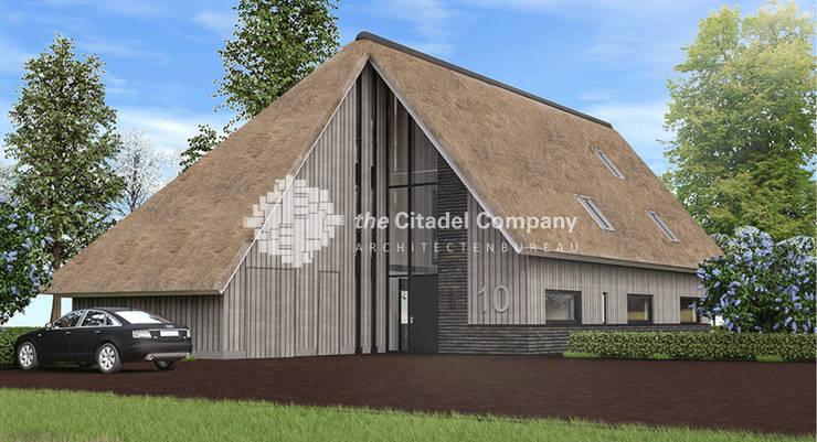 Schuurwoning Ommen, Erf Arrierveld:  Huizen door Architectenbureau The Citadel Company, Landelijk