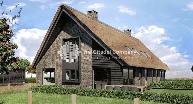 Boerenerf 'De Vosser Esch' - Woning 2:  Huizen door Architectenbureau The Citadel Company, Landelijk