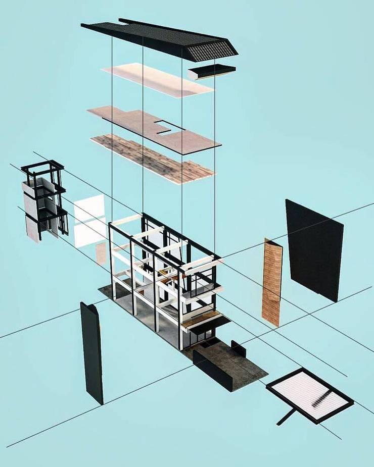 ตึกดำทำเฟี้ยว:  ร้านอาหาร by เอนโทรปี้