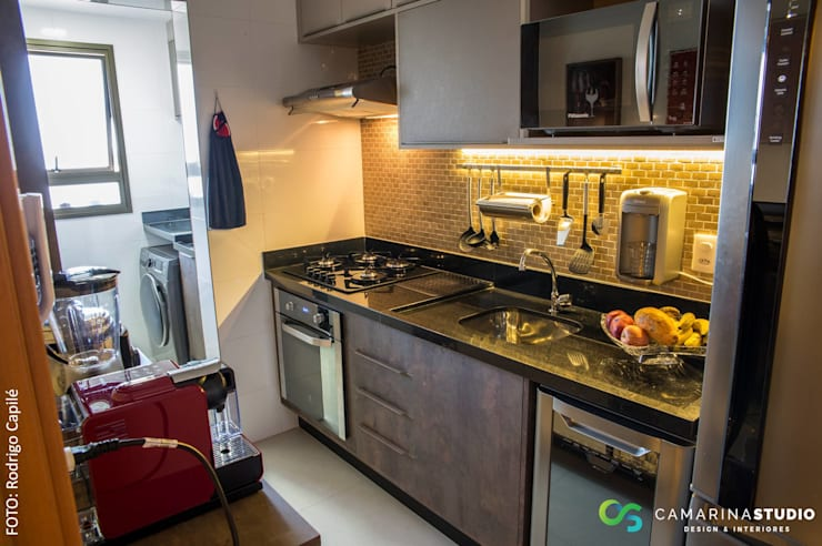 Kitchen by Camarina Studio