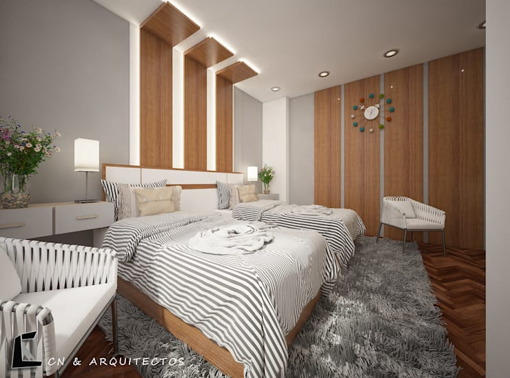 modern  oleh CN y Arquitectos, Modern