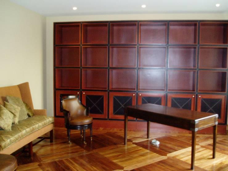 modern  by JMS DISEÑO DE INTERIORES MUEBLES Y CONSTRUCCION , Modern OSB