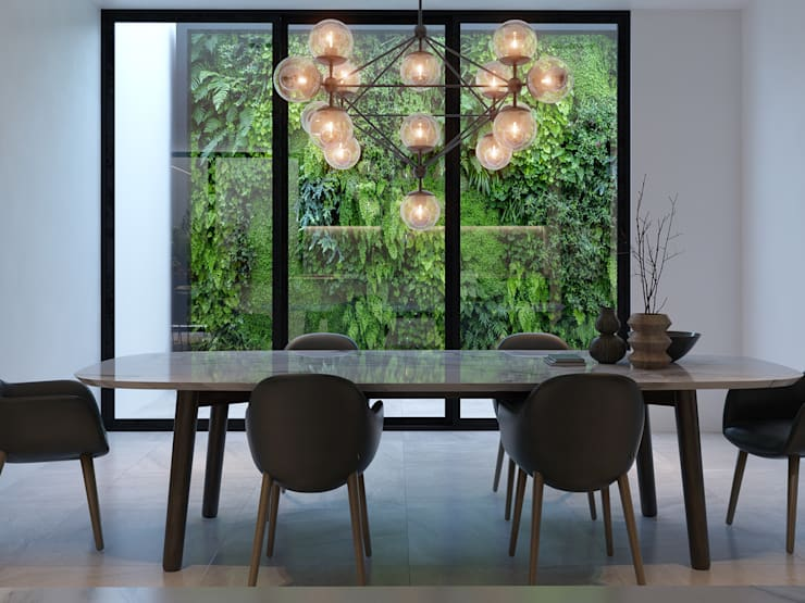 Remodelación interior: Comedores de estilo  por MG estudio de arquitectura