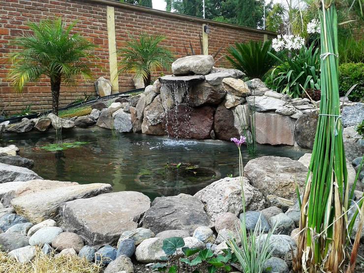 Jardines de estilo  por RIVERA ARQUITECTOS