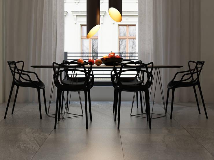 Comedores de estilo  por MG estudio de arquitectura