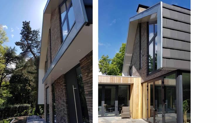 Dakrand-Luifel:  Huizen door TS architecten BV
