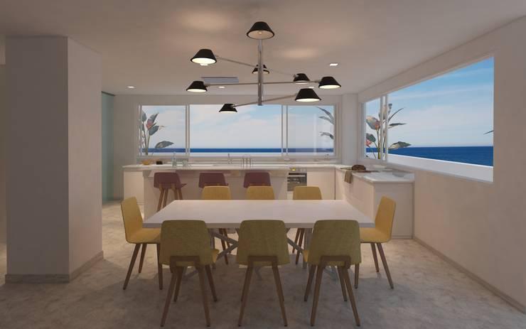 Mesa para comedor : Comedores de estilo  por Isabel Bautista Design