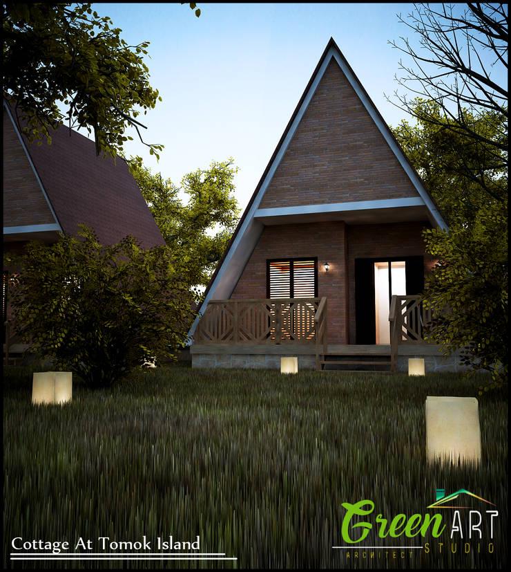 Cottage Tomok Island:   by GreenArt Studio