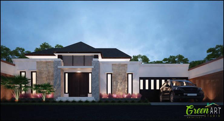 Private House Rantau Prapat:   by GreenArt Studio