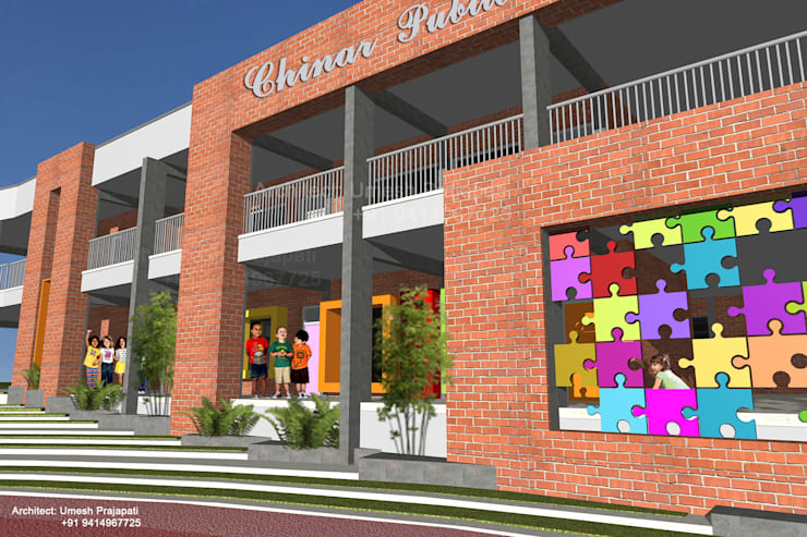 Chinar Public School:   by umesh prajapati designs