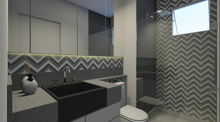 浴室 by Espaco AU