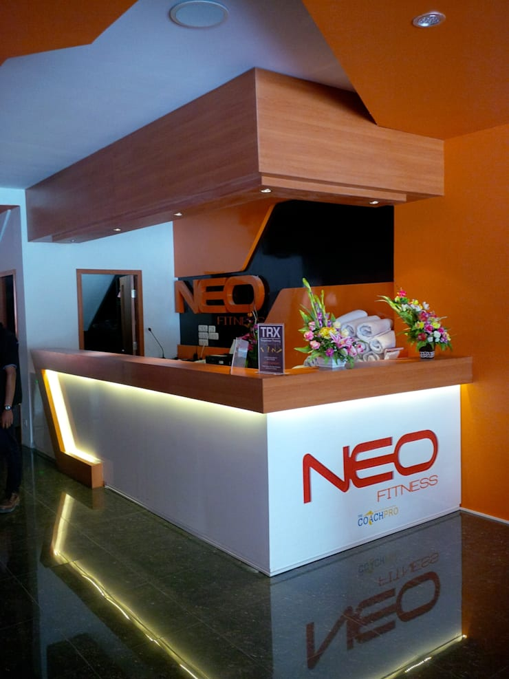 Neo Fitness Pekanbaru:   by GreenArt Studio