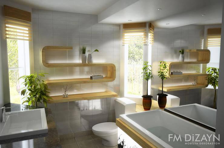浴室 by F&M Dizayn - Mobilya & Dekorasyon