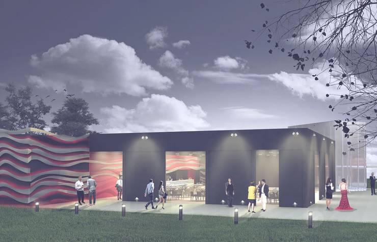 ศูนย์จัดงาน โดย PEI arquitectura, โมเดิร์น