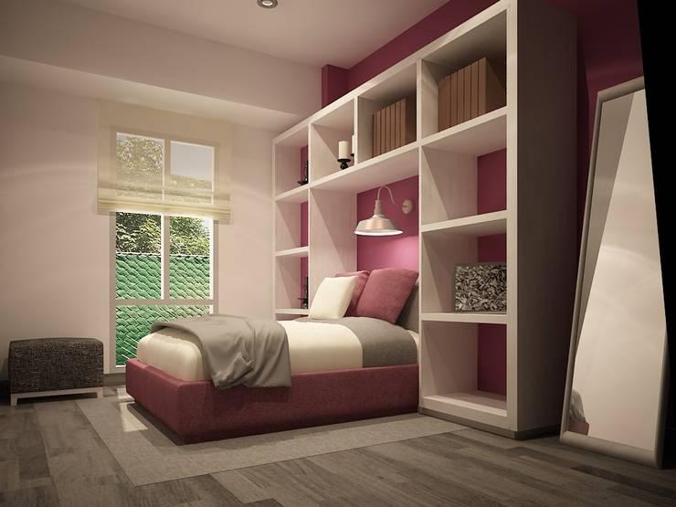 Habitaciones de estilo  por Zono Interieur