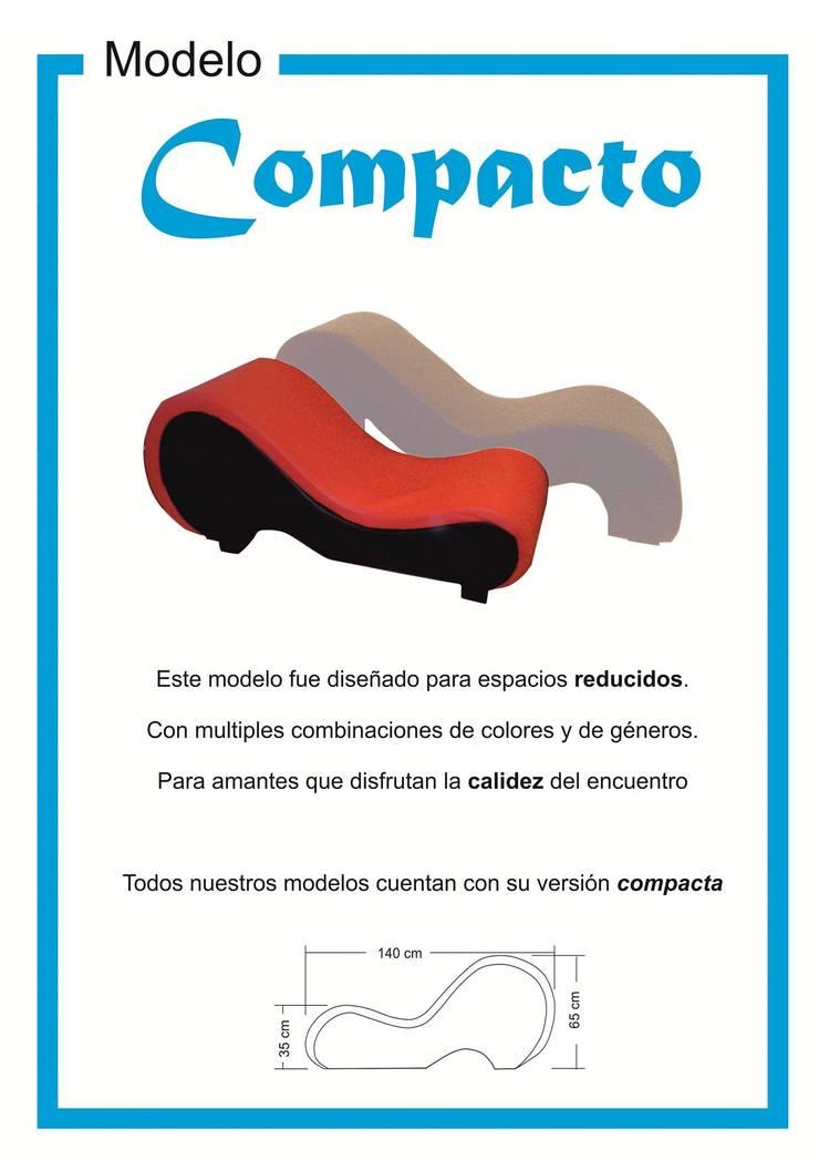 """Modelo """"Compacto"""":  de estilo  por KOA DISEÑOS"""