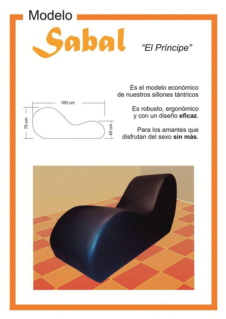 """Modelo """"Sabal"""":  de estilo  por KOA DISEÑOS"""
