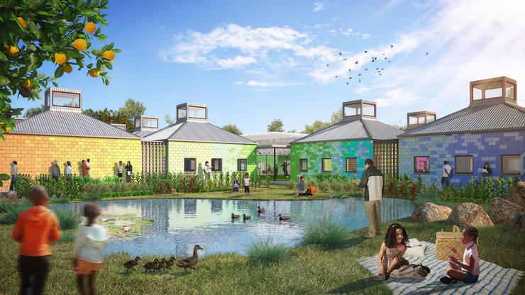 Garden by Kunst Architecture & Interiors, Modern