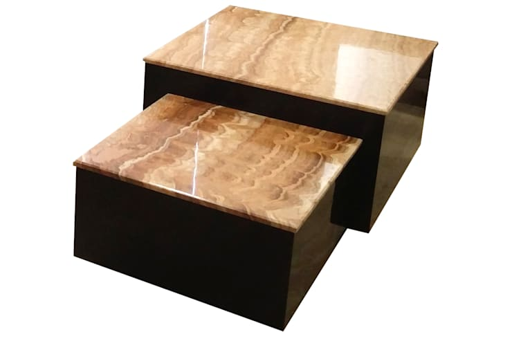 Center table: modern Living room by Total Interiors Solutions Pvt. ltd.