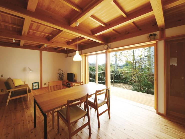 غرفة المعيشة تنفيذ 岸井設計室