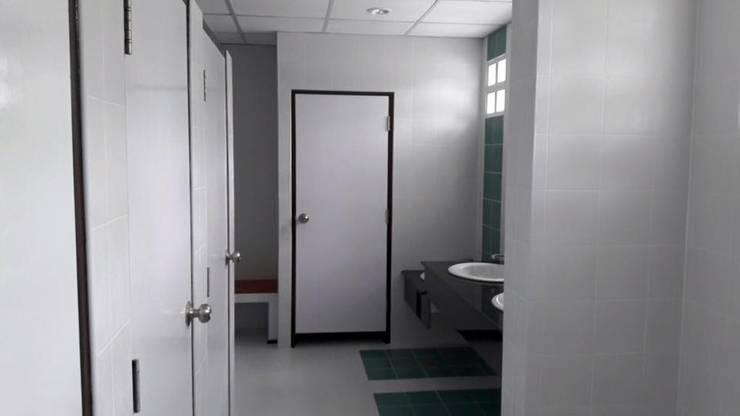 Renovate Toilet โรงเรียนปัญญาวุฒิกร มูลนิธิช่วยคนปัญญาอ่อนแห่งประเทศไทย ในพระบรมราชินุปถัมภ์:   by iamarchitex