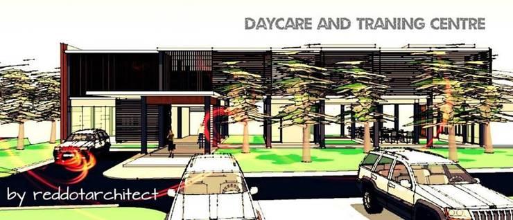 Day care Center Project มูลนิธิช่วยคนปัญญาอ่อนแห่งประเทศไทย ในพระบรมราชินุปถัมภ์:   by iamarchitex