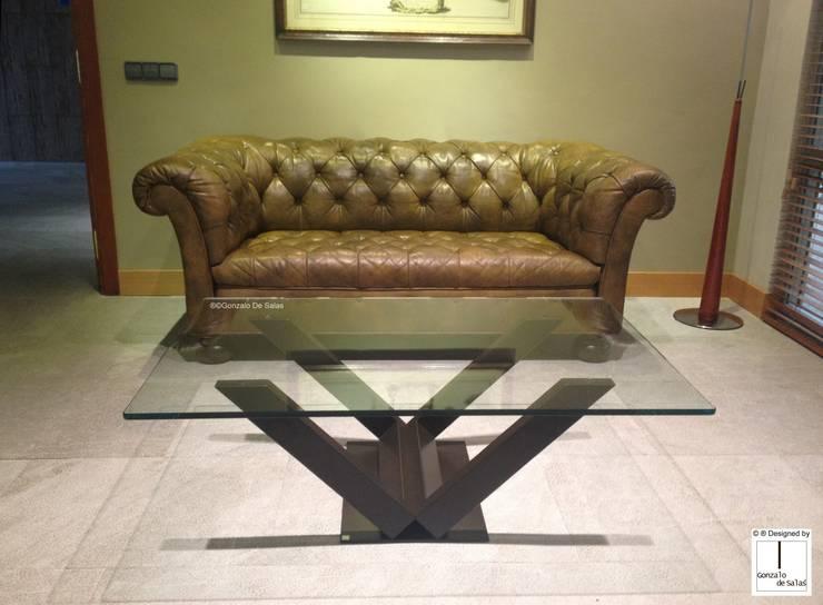 ห้องนั่งเล่น by GONZALO DE SALAS