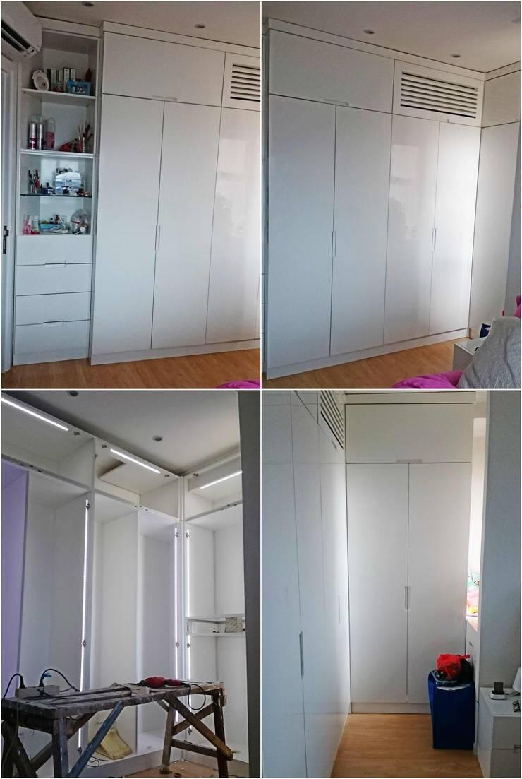 Wardrobe:  Bedroom by De' Catoer design & build