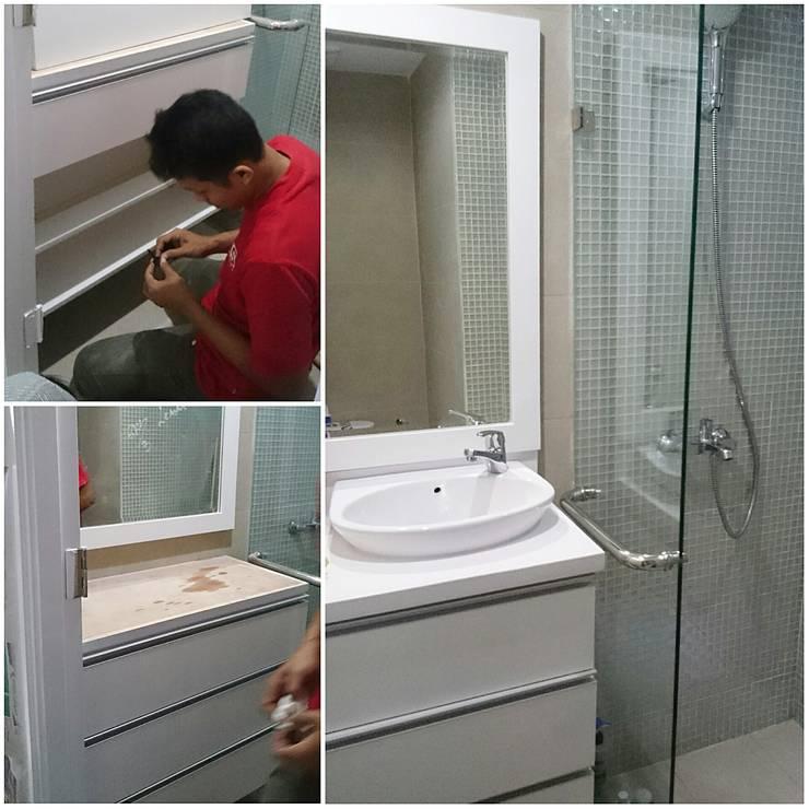 bathroom:  Bathroom by De' Catoer design & build