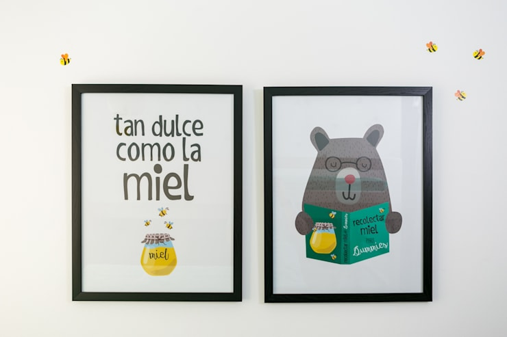 Cuarto de Martin Moreno: Habitaciones infantiles de estilo  por Little One, Escandinavo