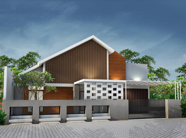 Tropis Modern:   by zoelsitektur