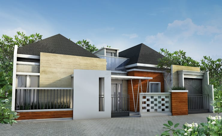 Rumah Tropis Modern :   by zoelsitektur