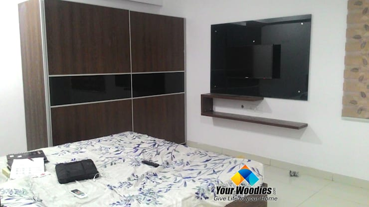 Yourwoodies Fully Custom made Modular Furniture: modern Bedroom by Your Woodies