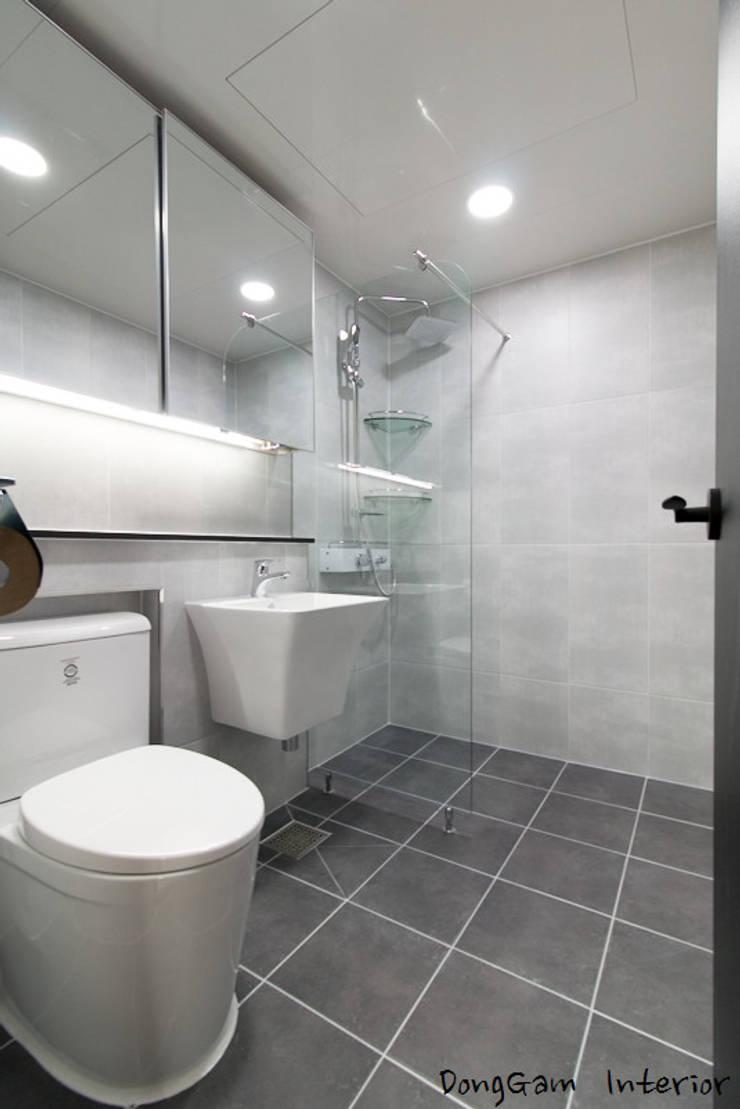 반석마을 7단지 : 동감인테리어의  욕실,