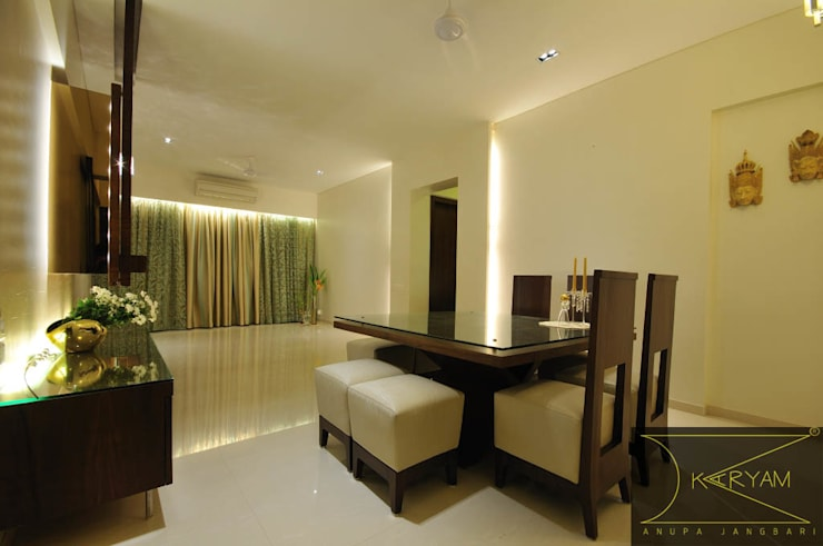 Dining room by Karyam Designs