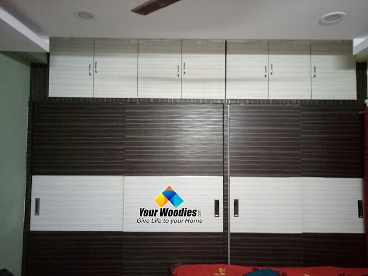 MB wardrobe:  Bedroom by Your Woodies