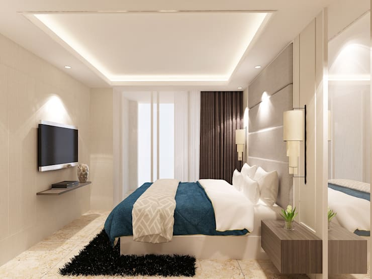 minimalistic Bedroom by iugo design