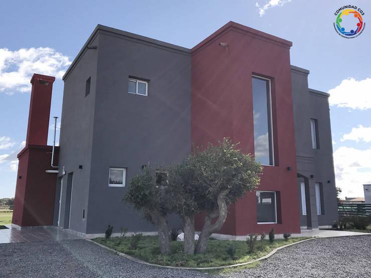 Construcción al Costo en Canning: Casas de estilo  por Comunidad CO3,